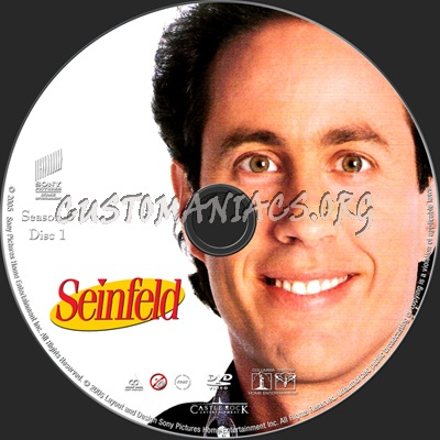 Seinfeld Season 6 dvd label
