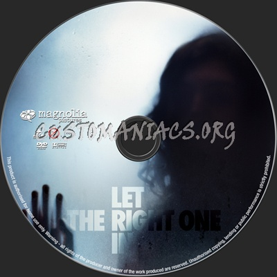Let the Right One In dvd label