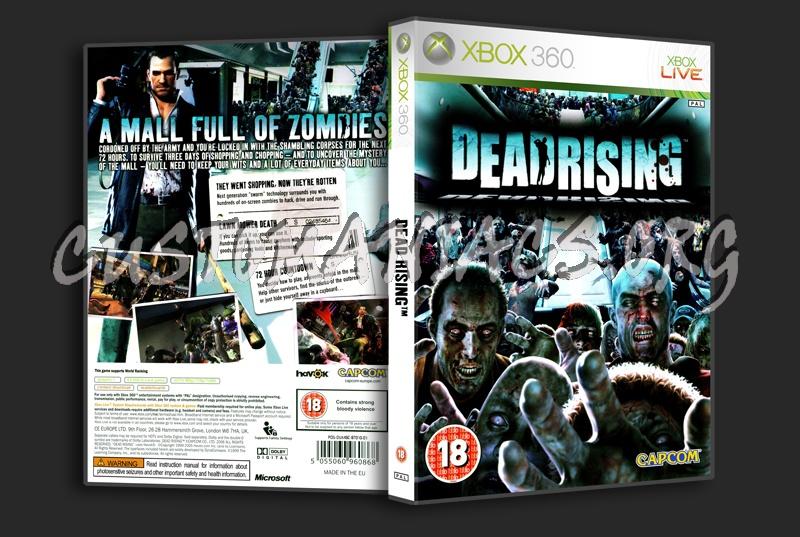 Dead Rising dvd cover