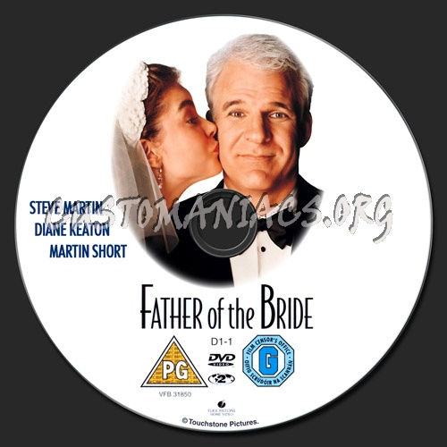 Father of the Bride dvd label