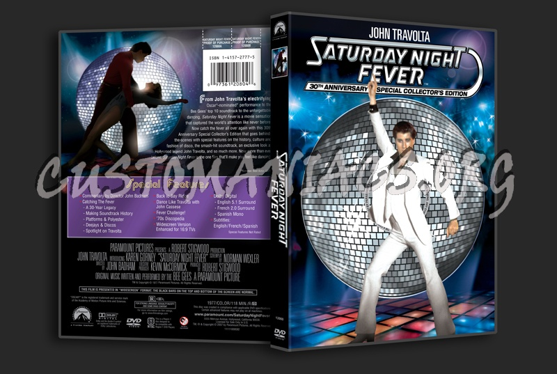 Saturday Night Fever dvd cover