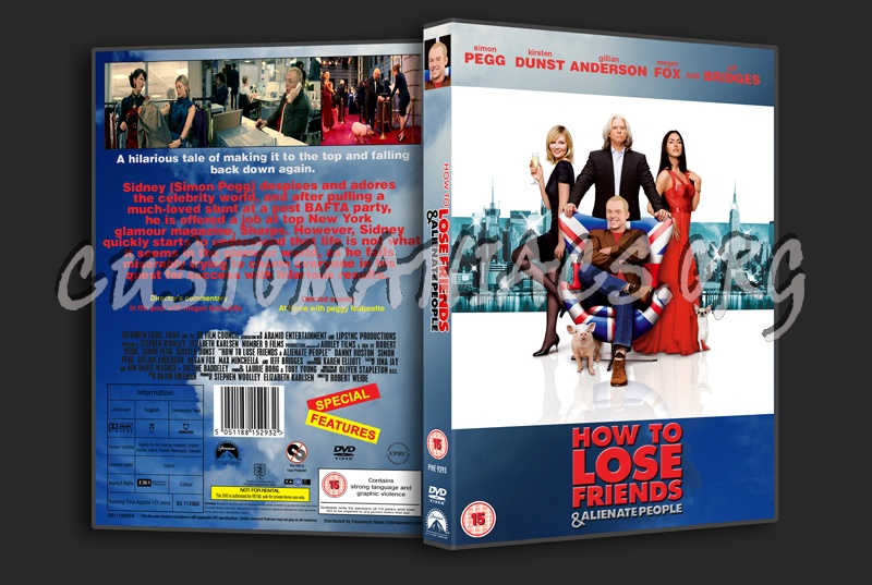 How to Lose Friends and Alienate People dvd cover