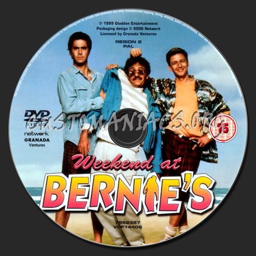 Weekend At Bernie's dvd label
