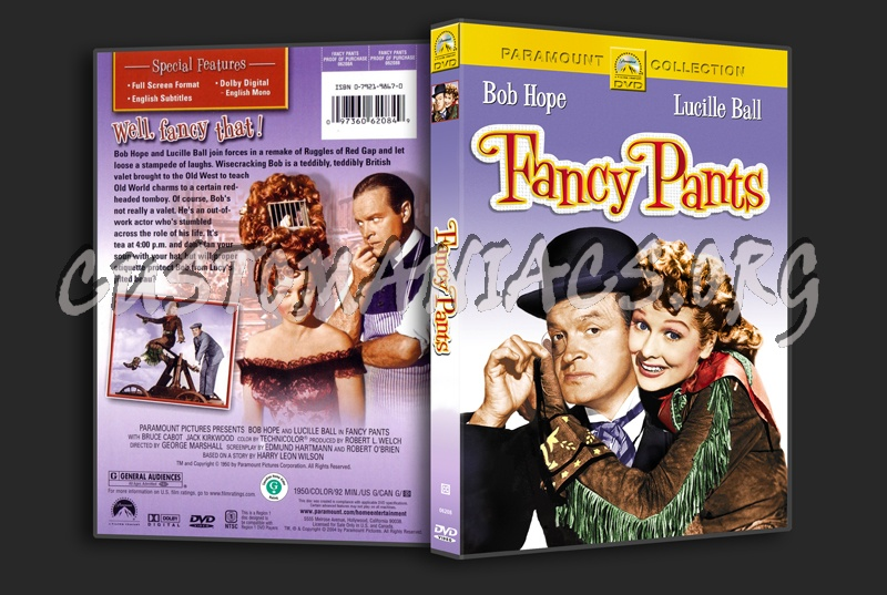 Fancy Pants dvd cover