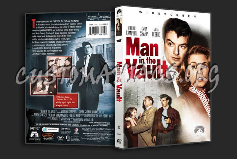 Man in the Vault dvd cover