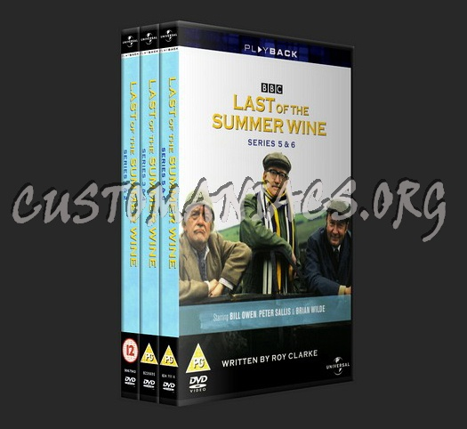 Last Of The Summer Wine Series 1, 2, 3, 4, 5 & 6 dvd cover