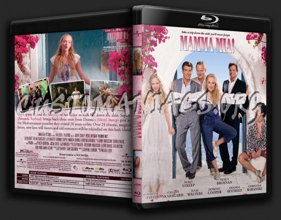 Mamma Mia! The Movie blu-ray cover