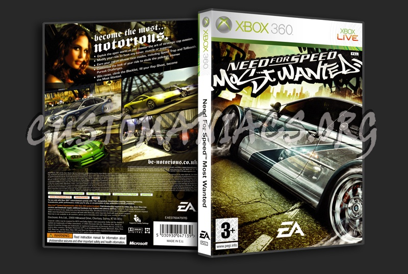 Need For Speed Most Wanted Dvd Cover Dvd Covers Labels By