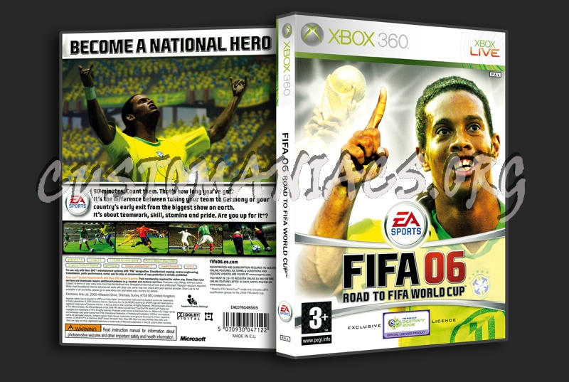 Road To Fifa World Cup '06 dvd cover