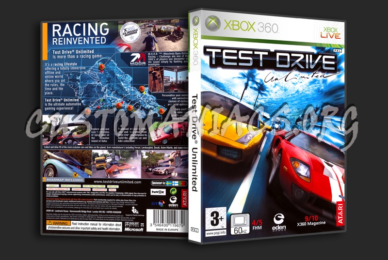 Test Drive dvd cover