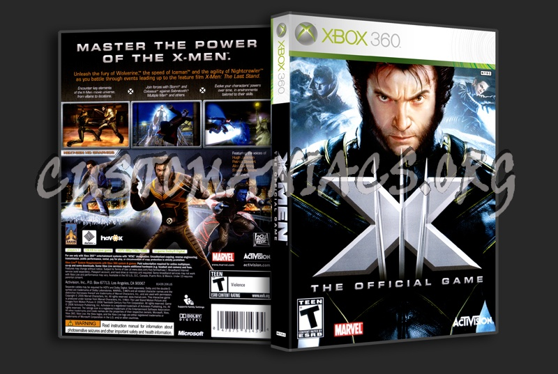 X-Men dvd cover