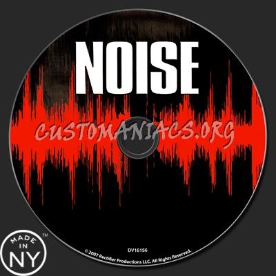 Noise dvd label