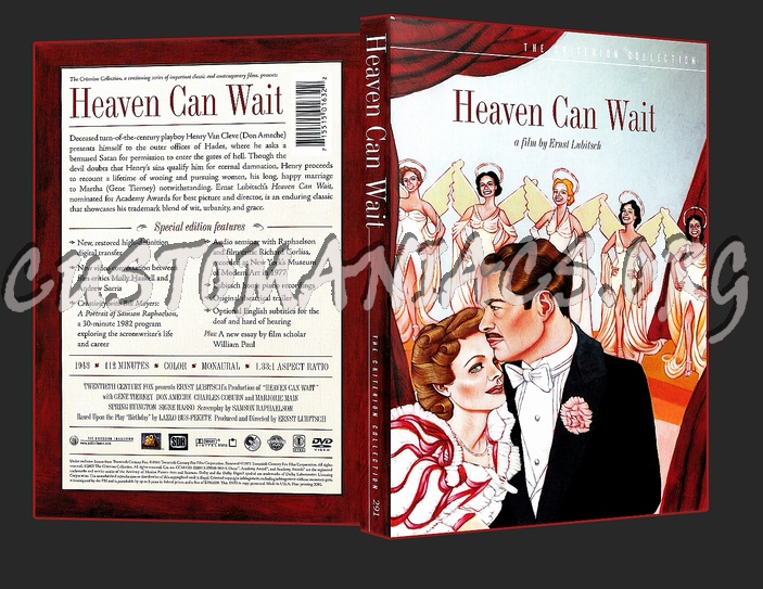 291 - Heaven Can wait dvd cover