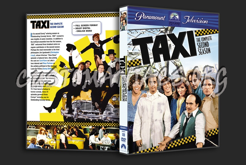 Taxi - Season 2 dvd cover - DVD Covers & Labels by