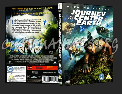 Journey To The Centre of The Earth dvd cover