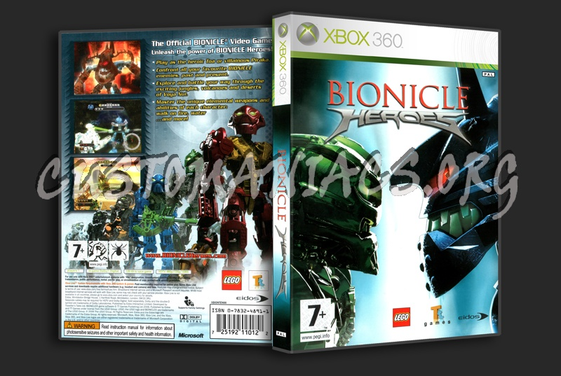 Bionicle Heroes dvd cover