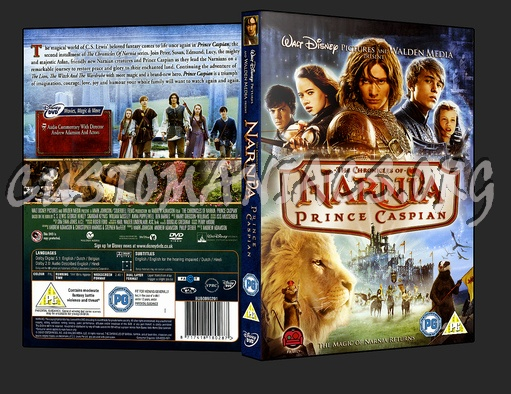 The Chronicles of Narnia - Prince Caspian dvd cover