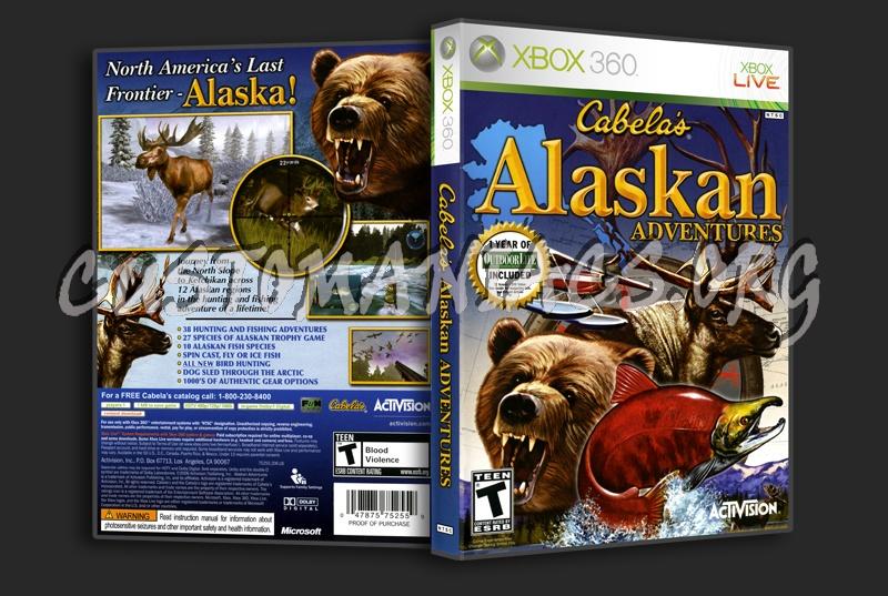 Cabela's Alaskan Adventure dvd cover