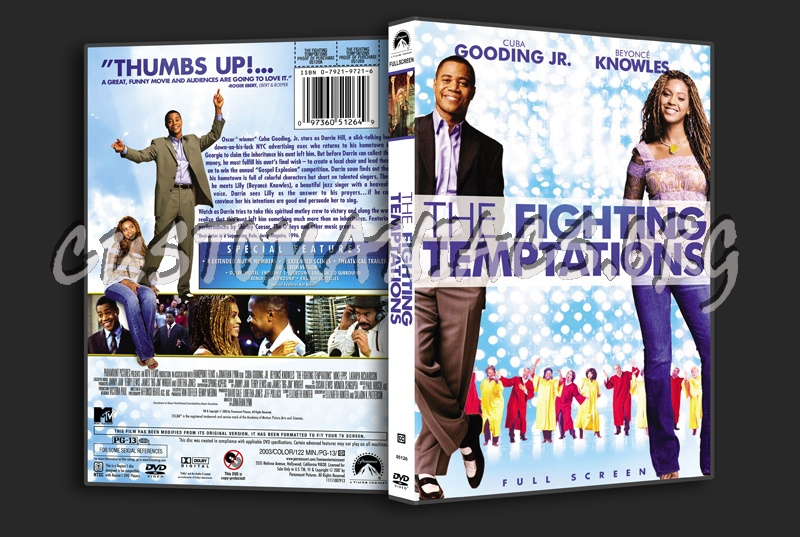 The Fighting Temptations dvd cover