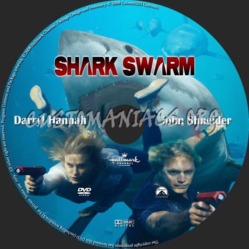 Shark Swarm dvd label
