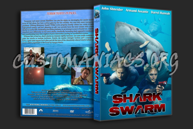 Shark Swarm dvd cover