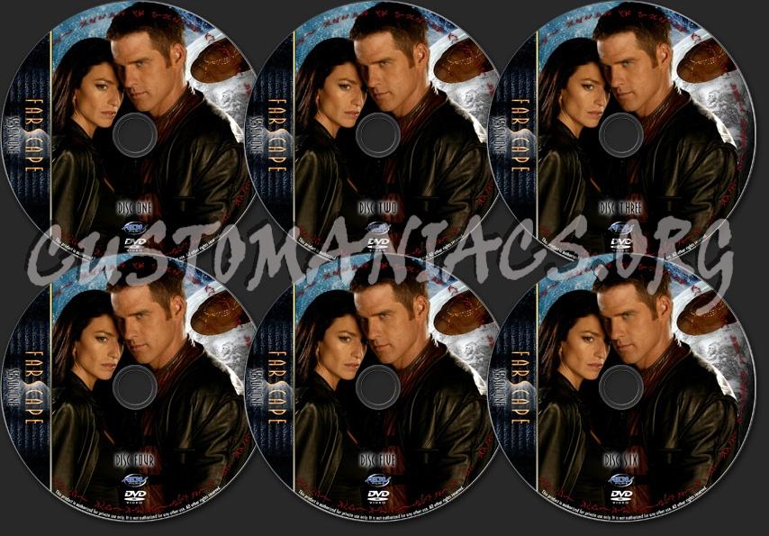 Farscape - TV Collection Season One dvd label