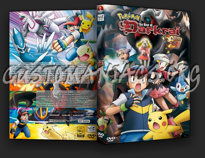 Pokemon The Rise Of The Darkrai Dvd Cover Dvd Covers Labels By Customaniacs Id 50660 Free Download Highres