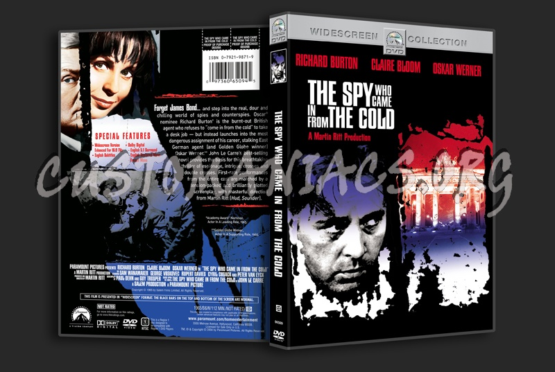 The Spy Who Came in from the Cold dvd cover