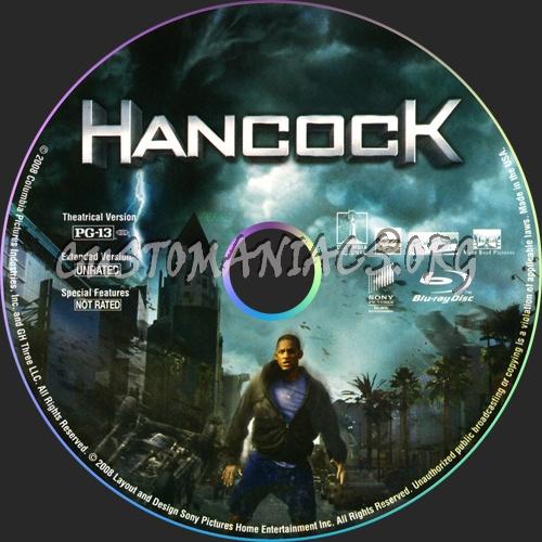 Hancock blu-ray label