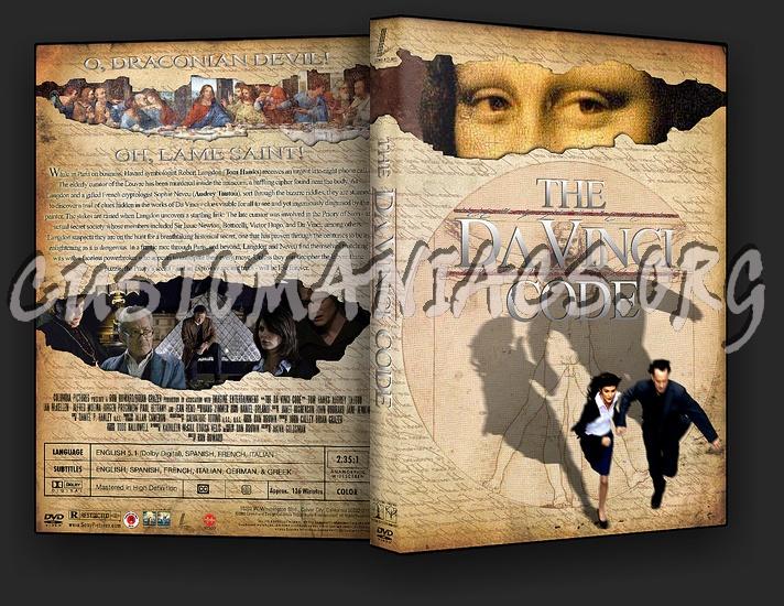 The Da Vinci Code dvd cover