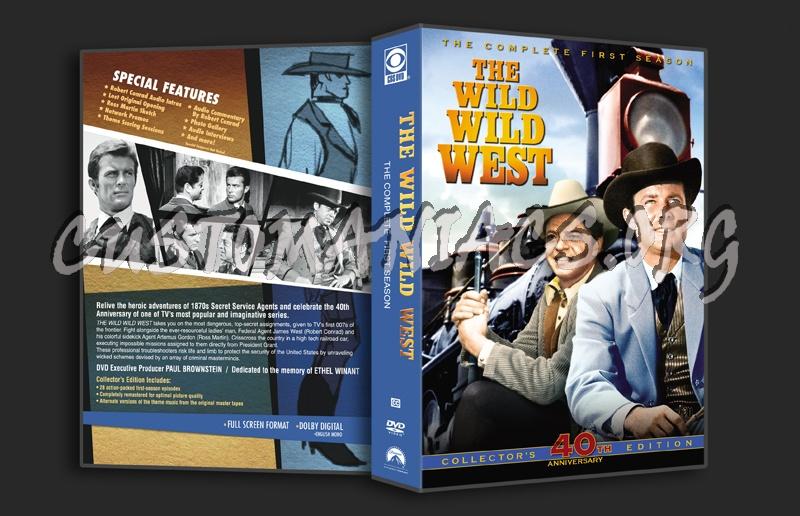 The Wild Wild West - Season 1 dvd cover