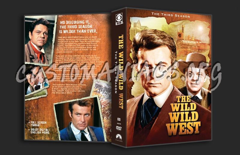The Wild Wild West - Season 3 dvd cover