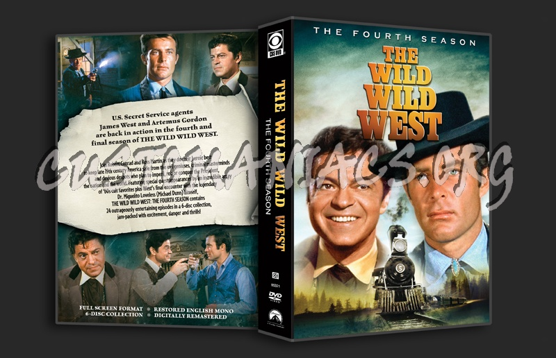 The Wild Wild West - Season 4 dvd cover