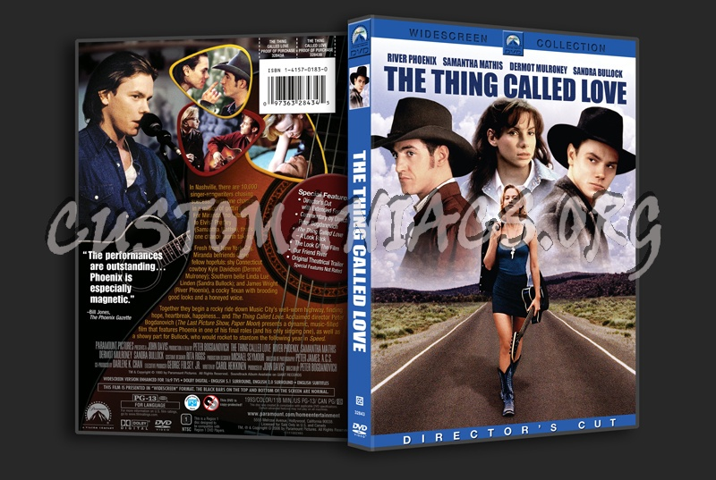 The Thing Called Love dvd cover