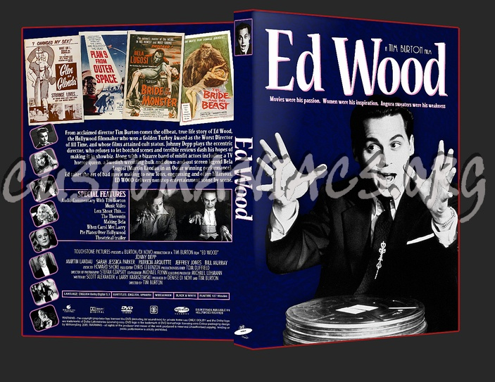 Ed Wood dvd cover