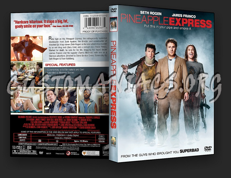 Pineapple Express dvd cover