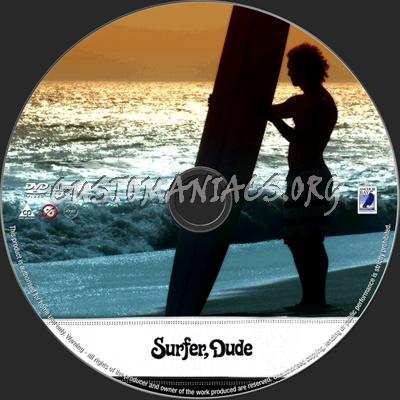 Surfer Dvd Surfer Dude Dvd Label