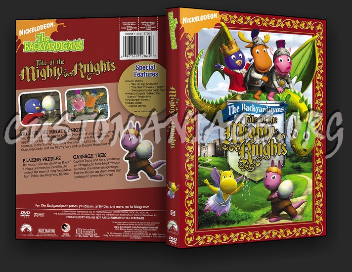 The Backyardigans - Tale of the Mighty Knights dvd cover
