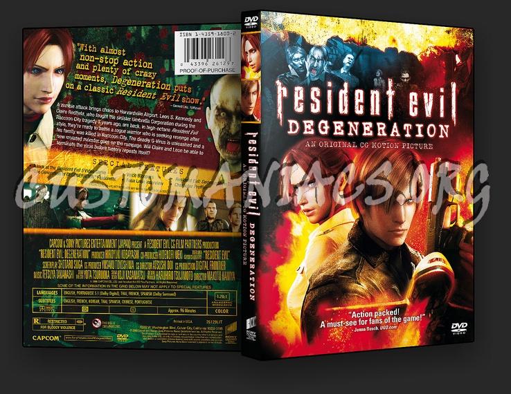 Resident Evil: Degeneration dvd cover