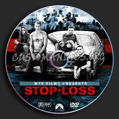Stop Loss dvd label