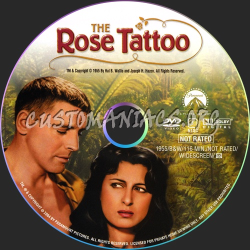 The rose tattoo dvd label dvd covers labels by for How to tattoo dvd