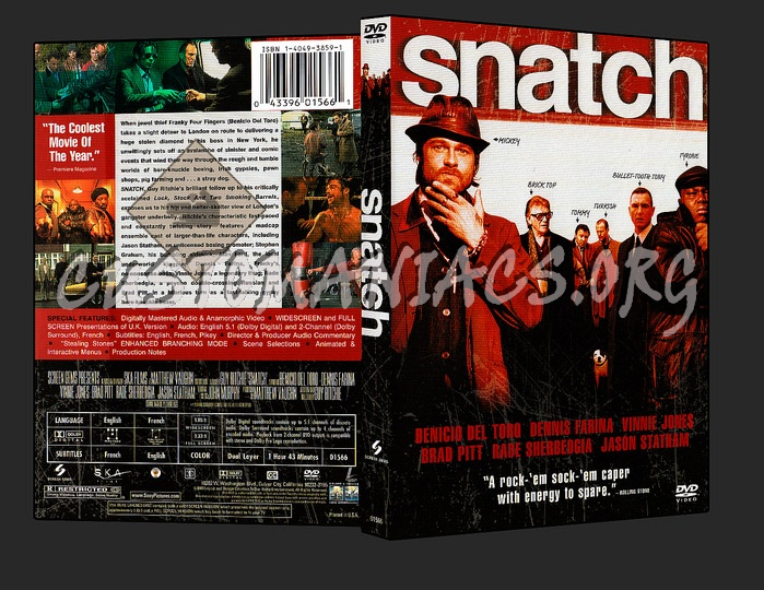 Snatch dvd cover