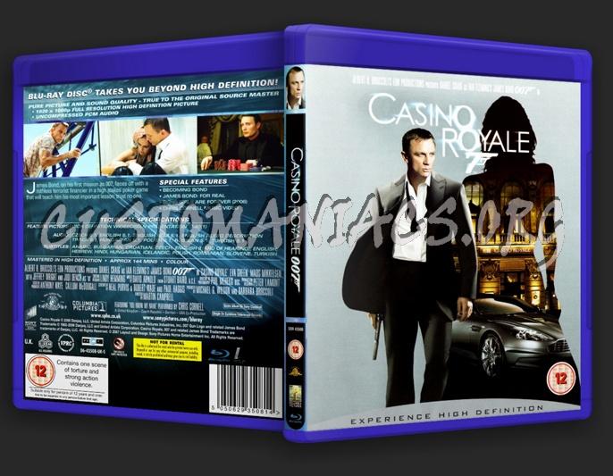 Casino Royale (James Bond) blu-ray cover