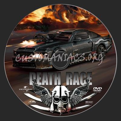 Death Race dvd label