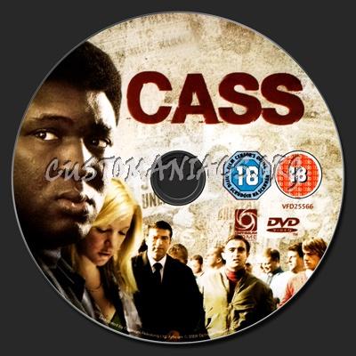 Cass dvd label