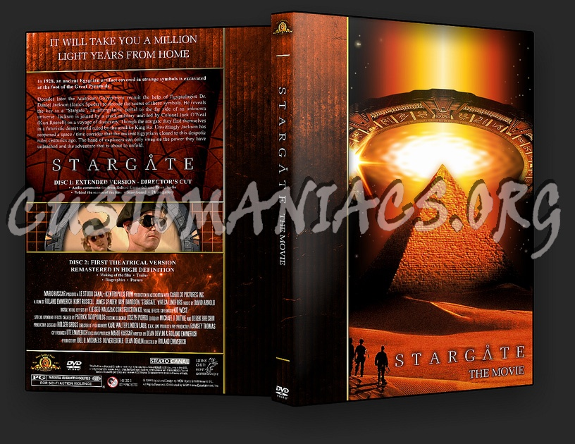 Stargate - The Movie dvd cover