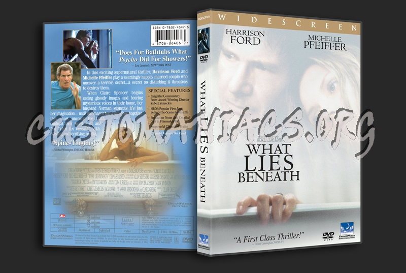 What Lies Beneath dvd cover