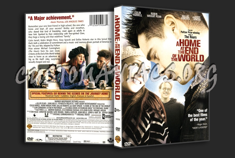 A Home At The End Of The World dvd cover