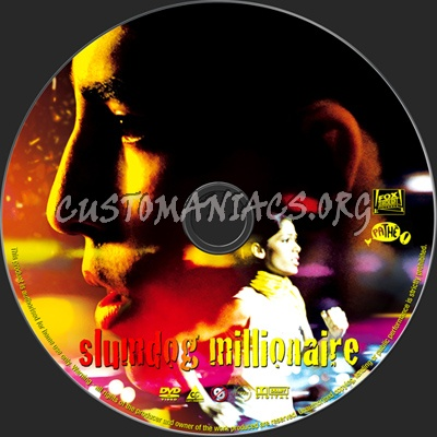 Slumdog Millionaire dvd label