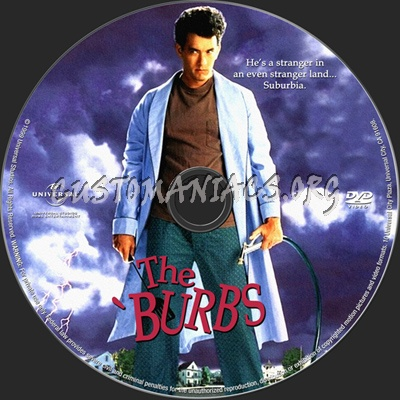 The 'burbs dvd label